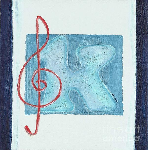 Music Note Print by Sofia Vawter