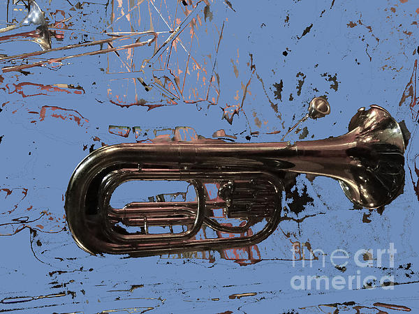 Musical Noise Print by Al Bourassa