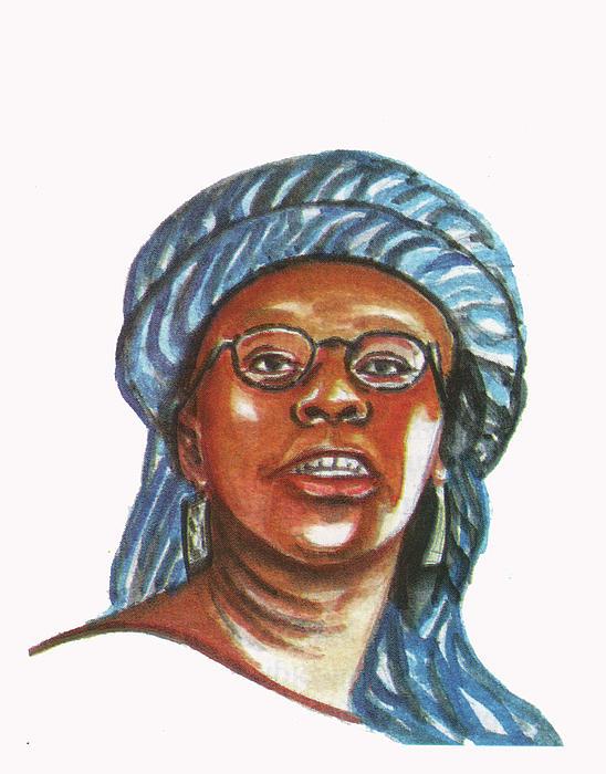 Musimbi Kanyoro Print by Emmanuel Baliyanga