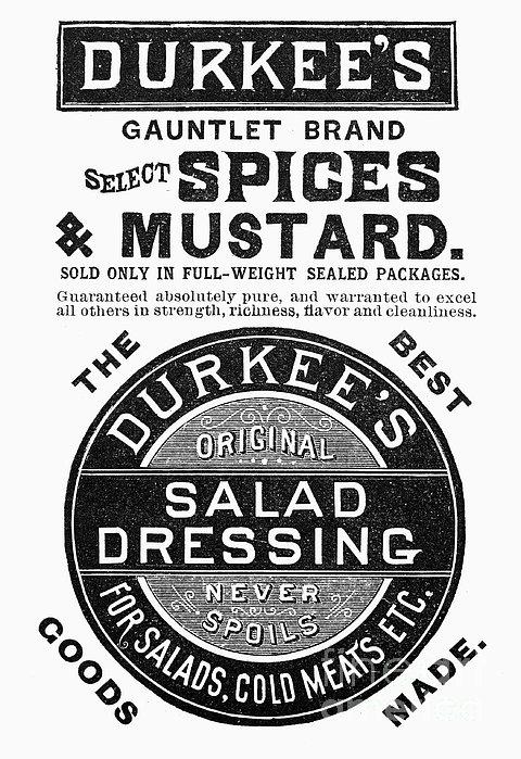 Mustard Ad, 1889 Print by Granger