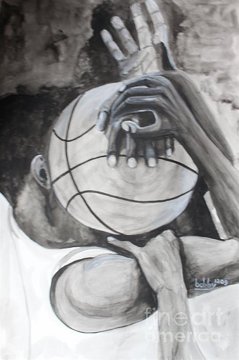 My Ball Print by Bobby Dogra