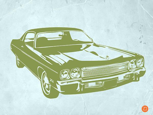 My Favorite Car 5 Print by Naxart Studio