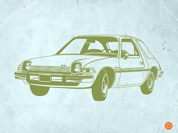 My Favorite Car Print by Naxart Studio