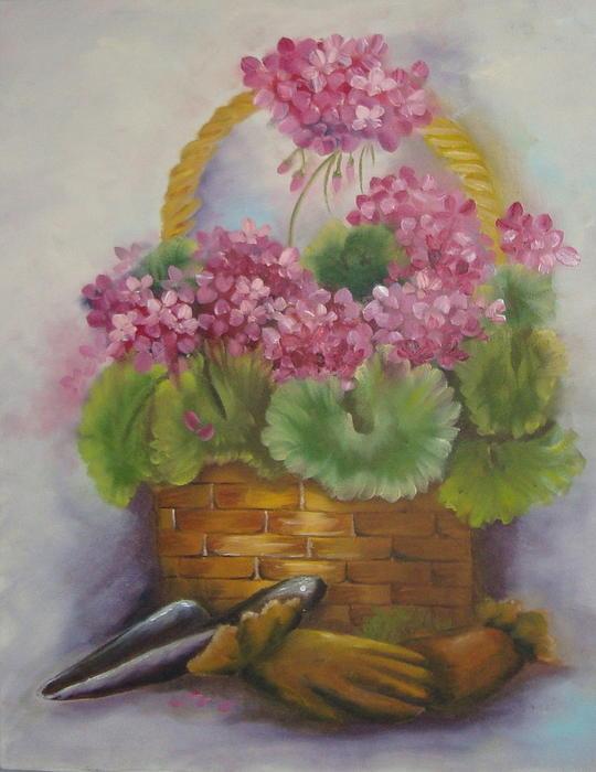 My Garden Prize Print by Bootsie Herder