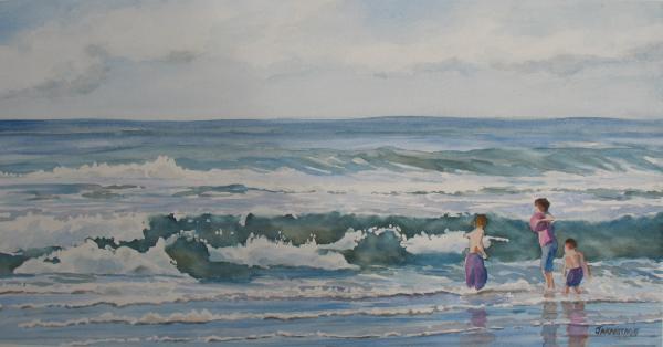 My Kind Of Beach Boys Print by Jenny Armitage