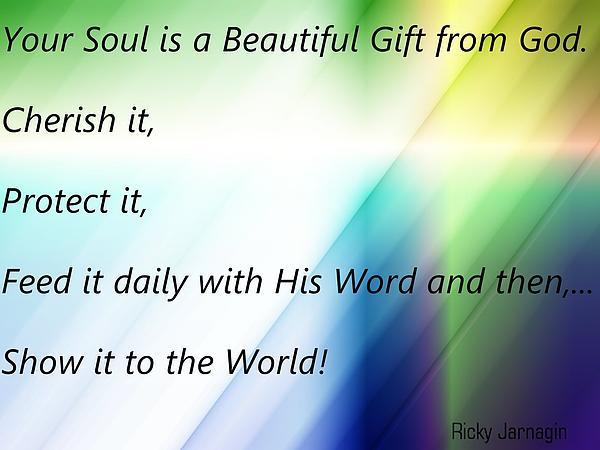 My Quote Print by Ricky Jarnagin