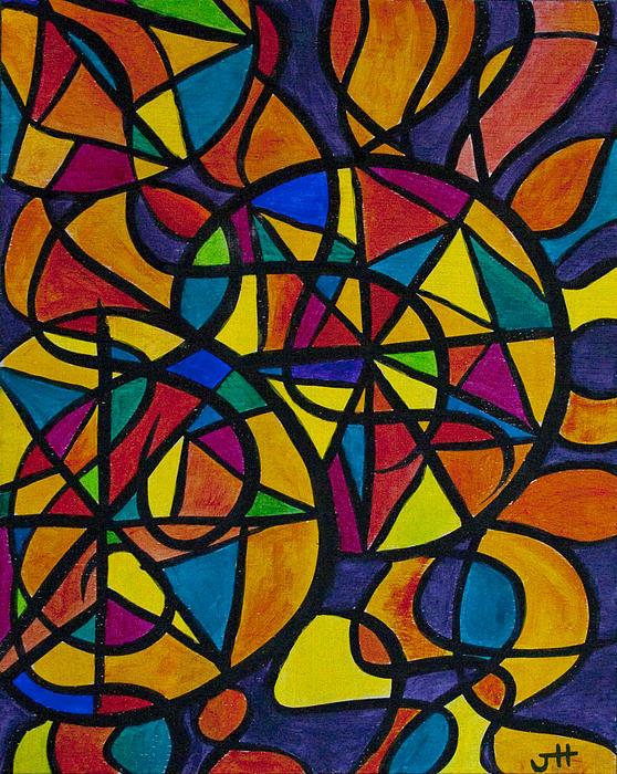 My Three Suns Print by Jaime Haney