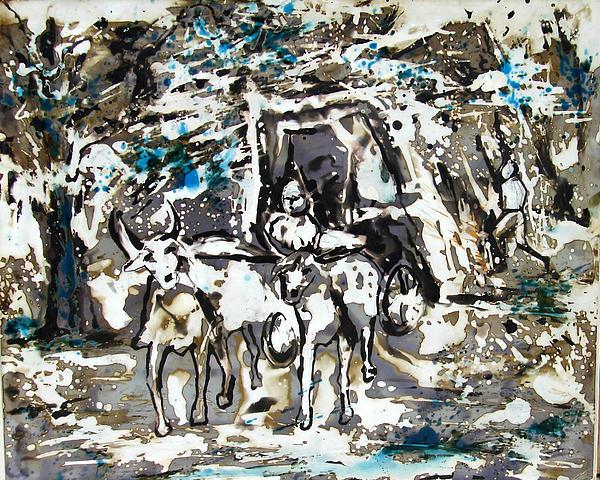Anand Swaroop Manchiraju - My Travel On Bullock Caught
