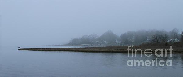 Mystic Fog Print by Rick  Monyahan