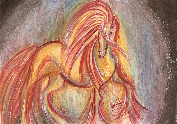 Mystic Series - Equine Print by Remy Francis