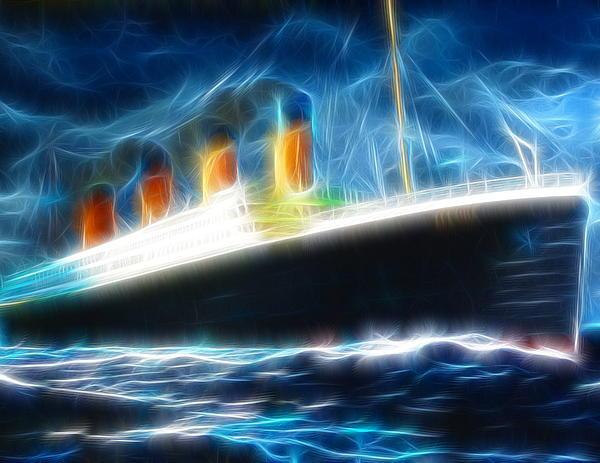 Mystical Titanic Print by Paul Van Scott