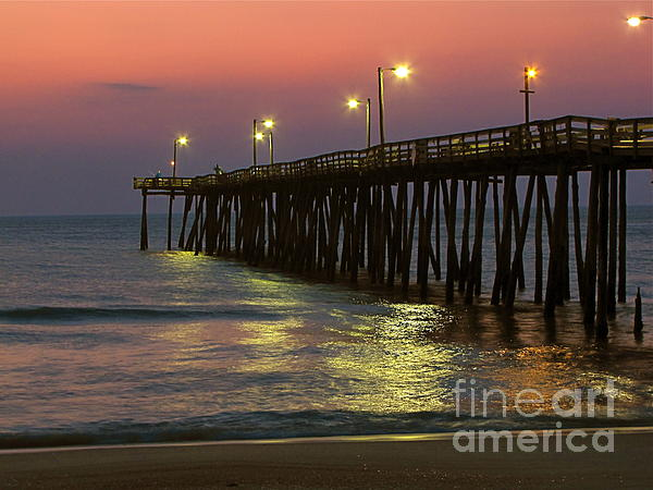 Nags head fishing pier by anthony stephens for Nags head fishing pier