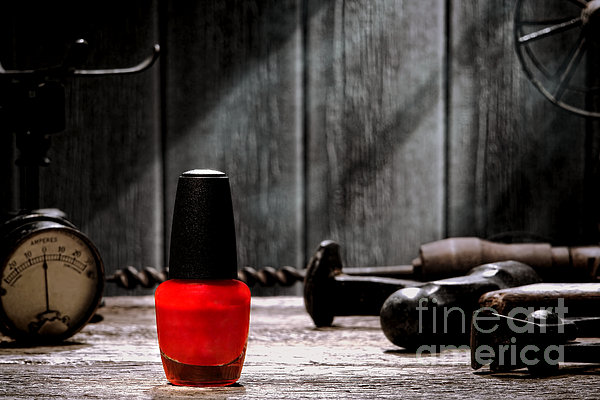 Nail Polish Print by Olivier Le Queinec
