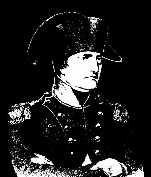 Napoleon Bonaparte Print by War Is Hell Store