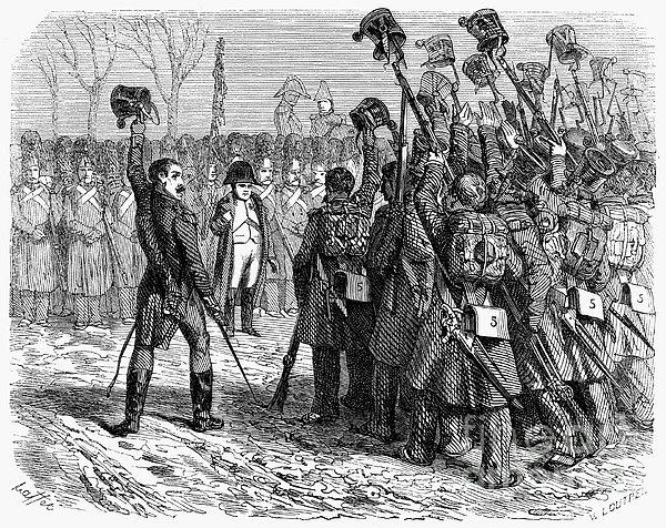 Napoleons Return, 1815 Print by Granger