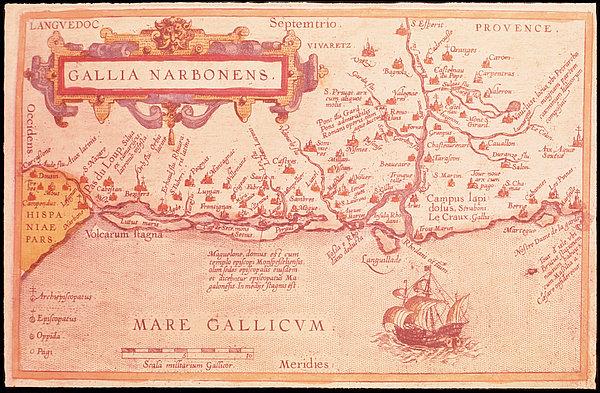 Narboneus Gaul Print by Fototeca Storica Nazionale