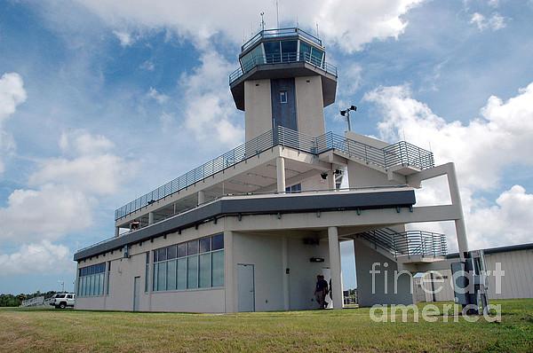 Nasa Air Traffic Control Tower Print by Nasa
