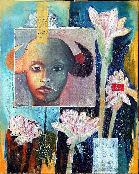 Natasha In Bloom Painting