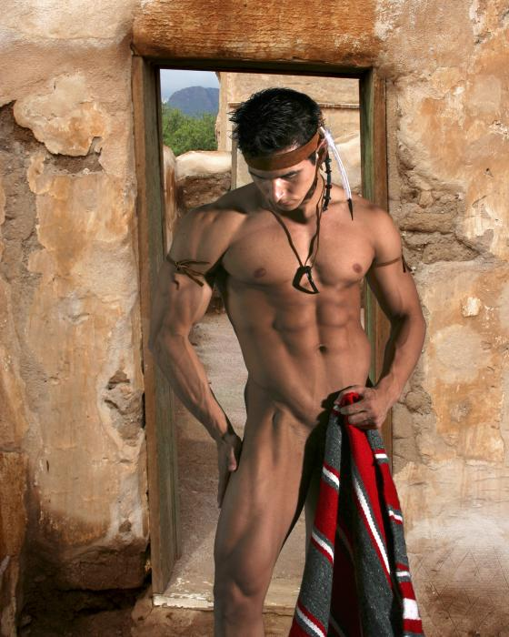 native american male model