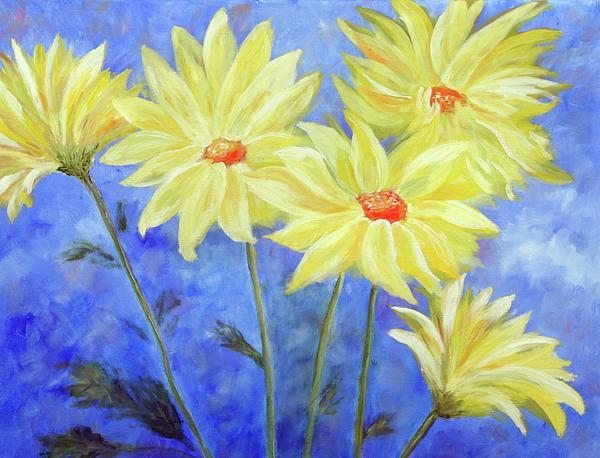 Nature's Sunshine Print by Robin Chaffin