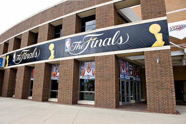 Nba Finals Print by Malania Hammer