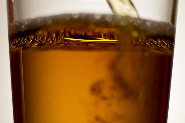 Near Beer Macro Print by Sven Brogren