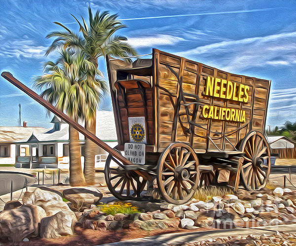 Needles California Print by Gregory Dyer