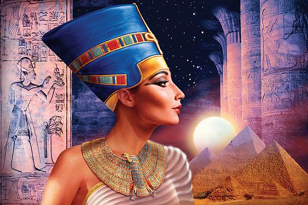 Nefertiti Variant 5 by Andrew Farley
