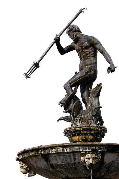 Neptune God Of The Sea Print by Artur Bogacki