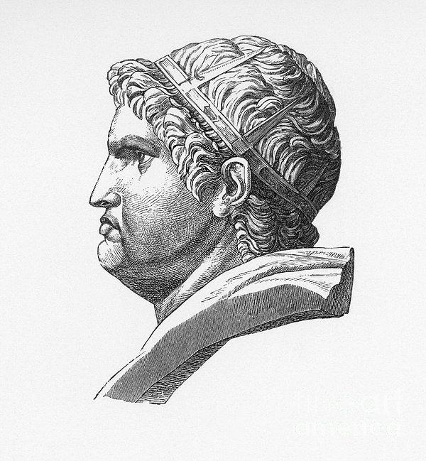 Nero (37-68 A.d.) Print by Granger