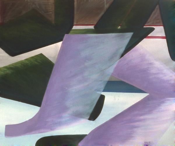 Netural Zone Play Print by Ken  Yackel
