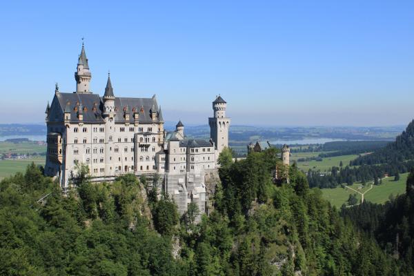Neuschwastein Castle Print by Michael  Kenney