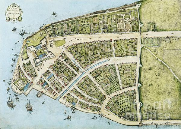 New Amsterdam Print by Pg Reproductions