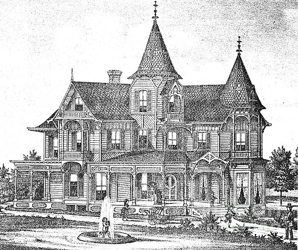 New Jersey: Atwood House Print by Granger