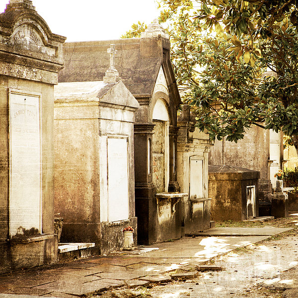 New Orleans Lafayette Cemetery No.1 Print by Kim Fearheiley