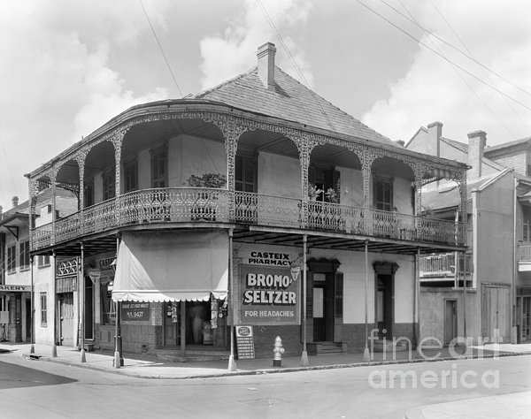 New Orleans Pharmacy Print by The Granger Collection