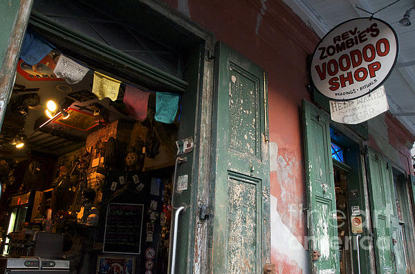 Jeanne  Woods - New Orleans Voodoo Shop