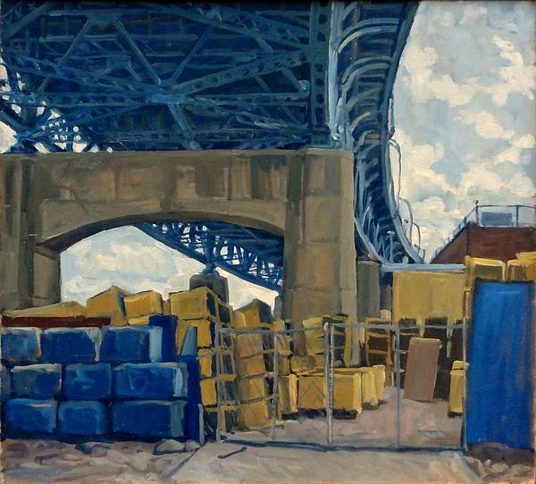 New York Blue Print by Thor Wickstrom