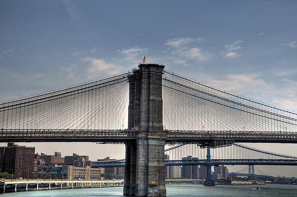 New York Bridges Print by Kelly Wade