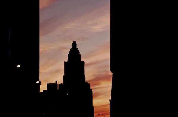 New York City Skyline Print by Stuart Brown