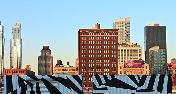 New-york Landmarks Print by Jordan Drapeau