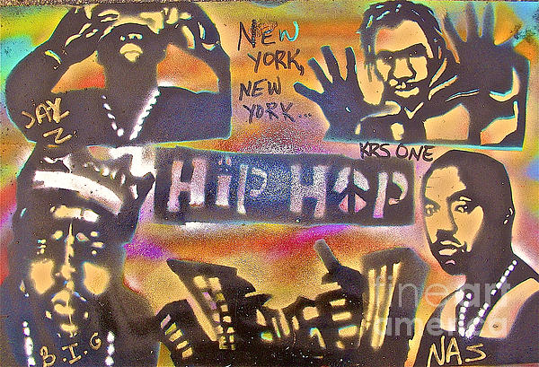 New York New York Print by Tony B Conscious