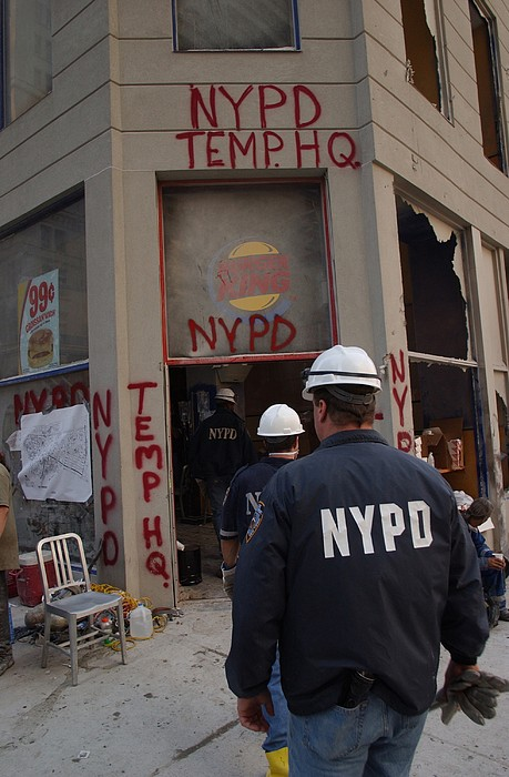 New York Police Department Set Print by Everett