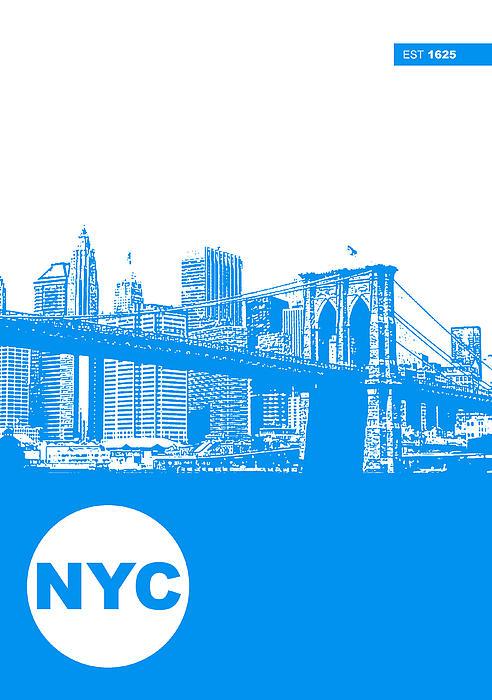 New York Poster Print by Naxart Studio
