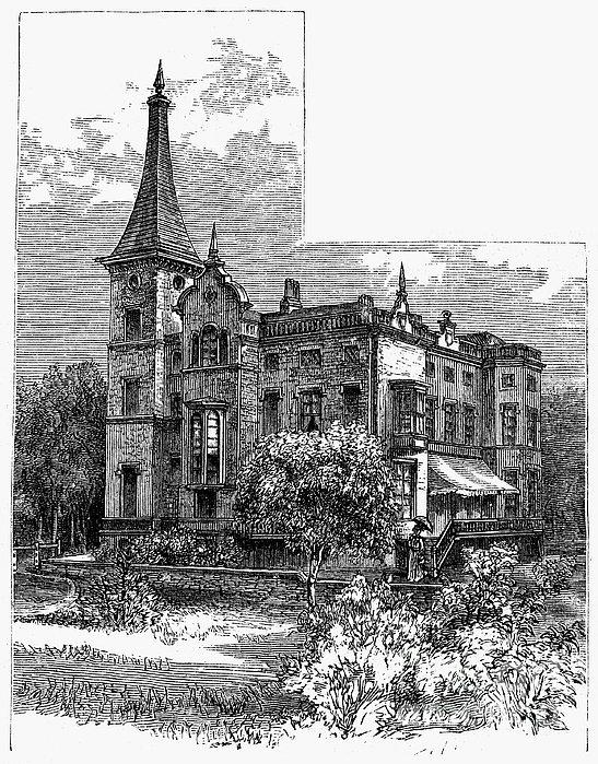 Newark: Kearny Mansion Print by Granger