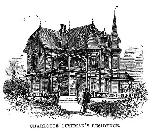 Newport Cottage Print by Granger