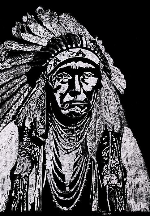 Nez Perce Print by Jim Ross
