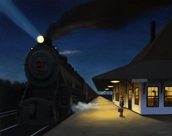 Night Train By Murad Sayen