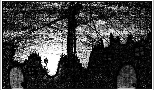 Night Watch Print by Ana Julia Fishman