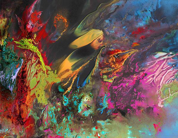 Nightmare Print by Miki De Goodaboom